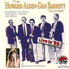 HOWARD ALDEN Howard Alden & Dan Barrett Quintet - Live In '95 album cover