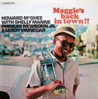 HOWARD MCGHEE Maggie's Back in Town album cover
