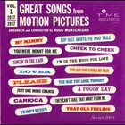 HUGO MONTENEGRO Great Songs From Motion Pictures Vol. 1: 1927-1937 album cover