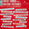 HUGO MONTENEGRO Great Songs from Motion Pictures Vol. 3: 1945-1960 album cover
