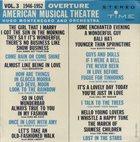 HUGO MONTENEGRO Overture, American Musical Theatre, Vol. 3 (1946 - 1952) album cover