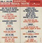 HUGO MONTENEGRO Overture, American Musical Theatre, Vol. 4 (1953 - 1960) album cover