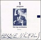 ICP ORCHESTRA Two Programs: The Icp Orchestra Performs Nichols - Monk album cover