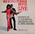 IKE AND TINA TURNER Revue Live album cover