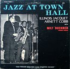 ILLINOIS JACQUET Jazz at Town Hall (aka The Blues From Louisiana) album cover