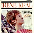 IRENE KRAL Better Than Anything (aka Irene Krall with the Junior Mance Trio) album cover