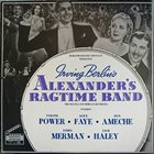 IRVING BERLIN Alexander's Ragtime Band (The Original Soundtrack Recording) album cover