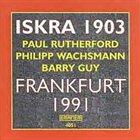 ISKRA 1903 Frankfurt 1991 album cover
