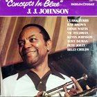 J J JOHNSON Concepts in Blue album cover