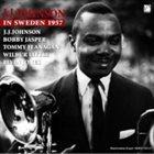 J J JOHNSON In Sweden 1957 album cover