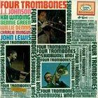 J J JOHNSON J.J. Johnson, Kai Winding, Bennie Green, Willie Dennis, Charlie Mingus , John Lewis : Four Trombones album cover