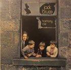 JACK BRUCE Harmony Row album cover