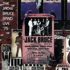 JACK BRUCE The Jack Bruce Band Live '75 album cover