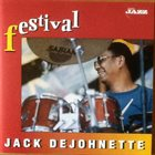JACK DEJOHNETTE Festival album cover