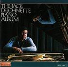 JACK DEJOHNETTE The Jack DeJohnette Piano Album album cover