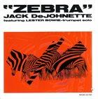 JACK DEJOHNETTE Zebra album cover