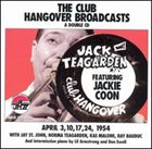 JACK TEAGARDEN Club Hangover Broadcasts (feat. Jackie Coon) album cover