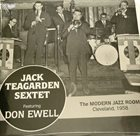 JACK TEAGARDEN The Modern Jazz Room, Cleveland, 1958 album cover