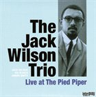 JACK WILSON Live at the Pied Piper album cover