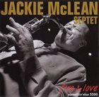 JACKIE MCLEAN Fire & Love album cover