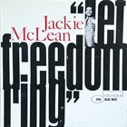 JACKIE MCLEAN ''Let Freedom Ring'' album cover