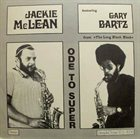 JACKIE MCLEAN Ode To Super (Featuring Gary Bartz) album cover