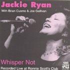 JACKIE RYAN Whisper Not album cover