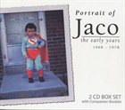 JACO PASTORIUS Portrait of Jaco: The Early Years album cover
