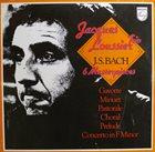 JACQUES LOUSSIER J.S. Bach 6 Masterpieces album cover
