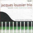JACQUES LOUSSIER Mozart Piano Concertos 20 + 23 album cover