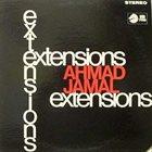 AHMAD JAMAL Extensions album cover