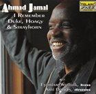 AHMAD JAMAL I Remember Duke, Hoagy & Strayhorn album cover