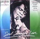 JAMES BROWN Soul Session Live album cover
