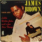 JAMES BROWN Thinking About Little Willie John And A Few Nice Things album cover