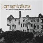 JAMES FALZONE Allos Musica Trio: Lamentations album cover