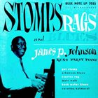JAMES P JOHNSON Stomps Rags And Blues - Rent Party Piano album cover