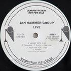 JAN HAMMER Jan Hammer Group : Live album cover