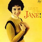 JANE HARVEY Leave It to Jane! album cover