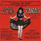 JANET KLEIN Janet Klein's Scandals: 'Living In Sin' album cover