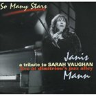 JANIS MANN So Many Stars: Tribute To Sarah Vaughan album cover