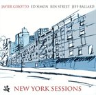 JAVIER GIROTTO New York Sessions album cover