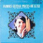 JAY BERLINER Famous Guitar Pieces - De Luxe album cover