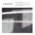 JEAN-CHRISTOPHE CHOLET Caractères album cover
