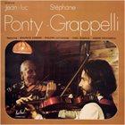 JEAN-LUC PONTY Ponty - Grappelli album cover
