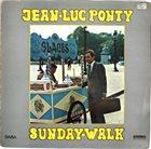 JEAN-LUC PONTY Sunday Walk album cover