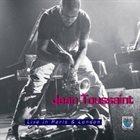 JEAN TOUSSAINT Live In Paris & London album cover