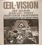 JEF GILSON Œil Vision album cover