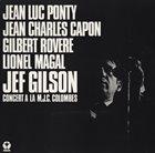 JEF GILSON Concert A La M.J.C. Colombes album cover