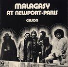 JEF GILSON Malagasy At Newport-Paris album cover
