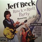 JEFF BECK Rock 'n' Roll Party (Honouring Les Paul) album cover